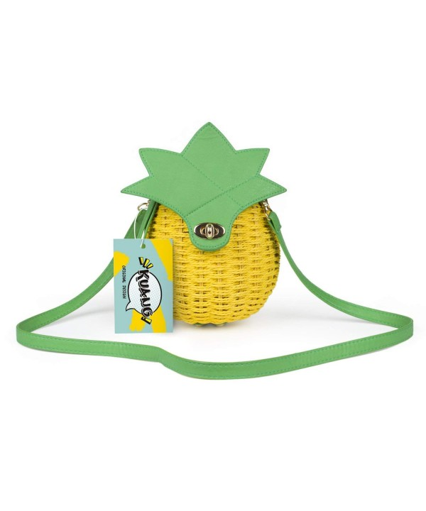 Kuang Summer Manual Shoulder Pineapple