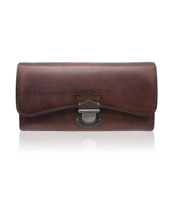 Womens Wallet Capacity Ladies Leather