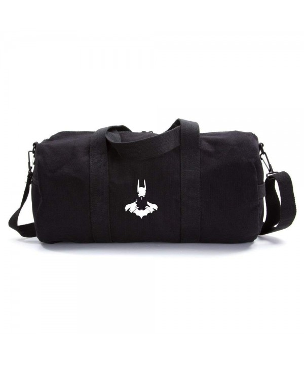 Batman Silhouette Heavyweight Canvas Duffel