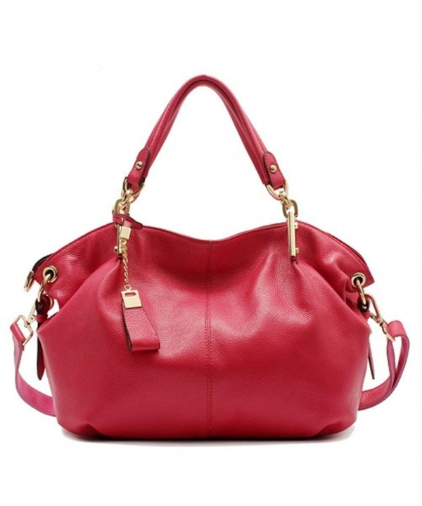 Genuine Leather Handbags Supple Shoulder