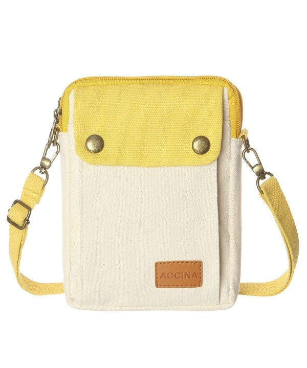 Phone Wallet Canvas Pocket Crossbody