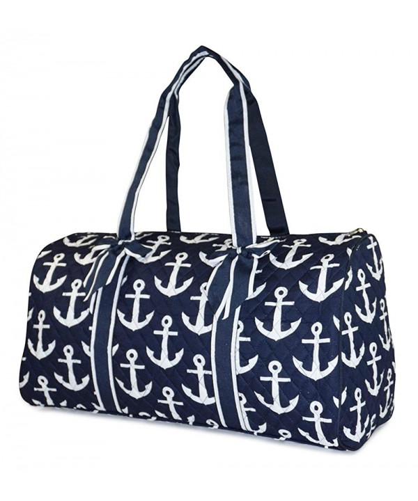 NGIL Anchor Quilted Duffle Bag