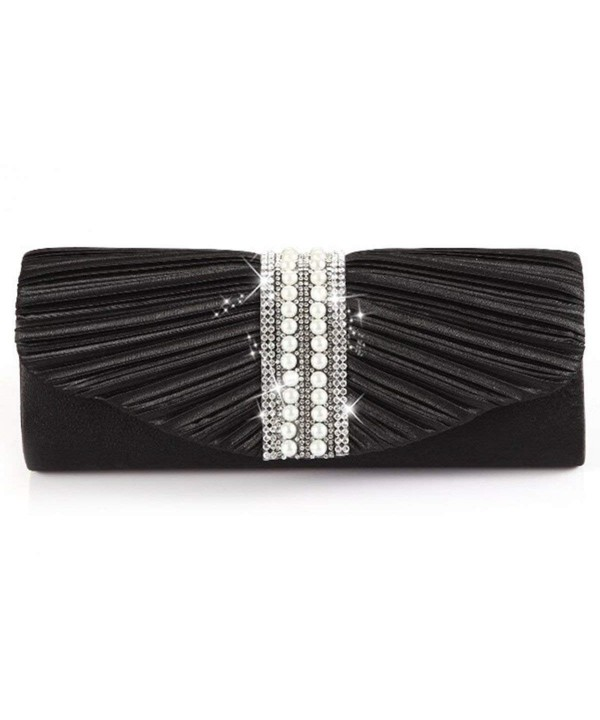 Emour Pleated Wedding Evening HandBag
