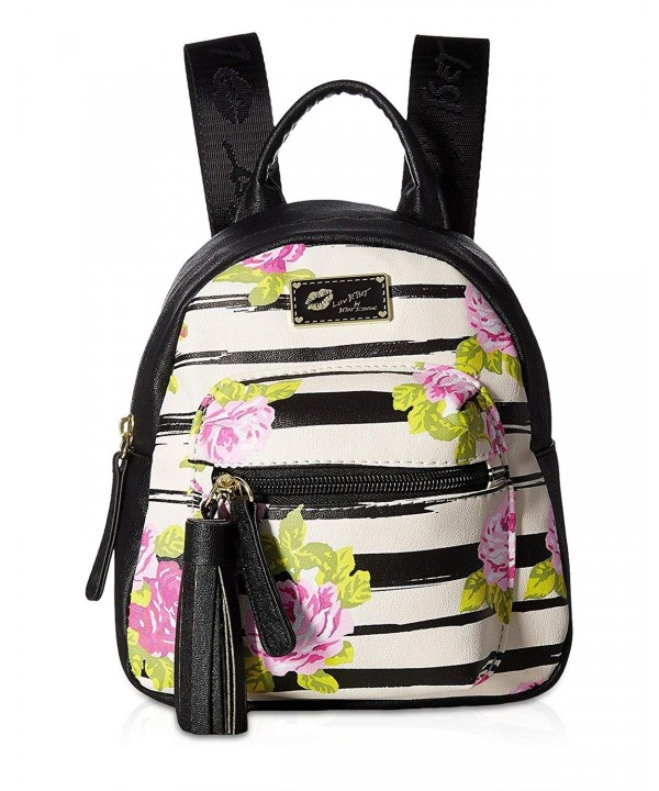 Luv Betsey Womens Backpack Rosebud