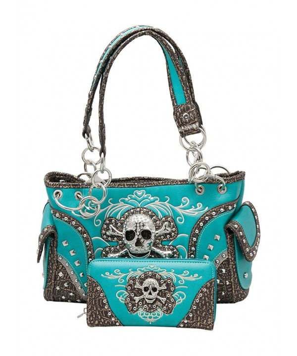 HW Collection Rhinestone Concealed Turquoise