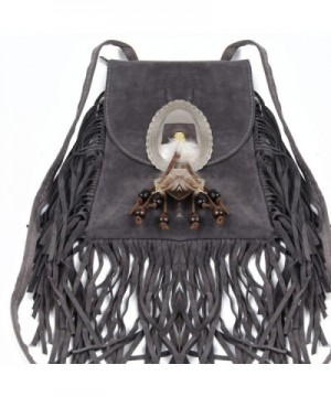 Fashion Shoulder Fringed Crossbody Feather
