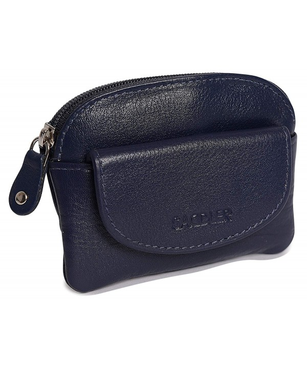 SADDLER Womens Leather Coins Pocket