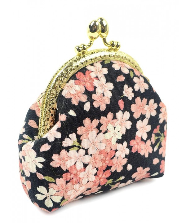 POPUCT Womens Classic Exquisite black floral
