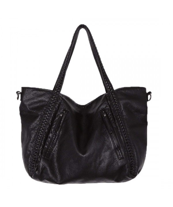 Capacity Fashion Handbags Leather Shoulder