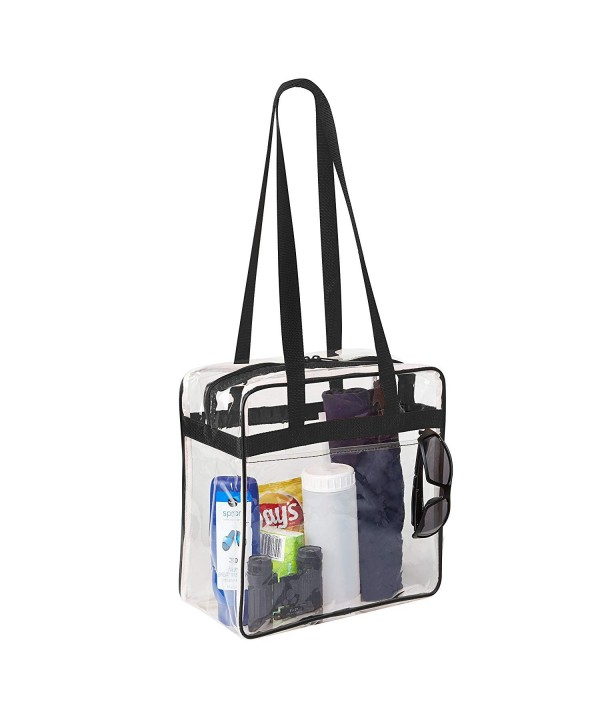 Clear Stadium Pocket Shoulder Straps