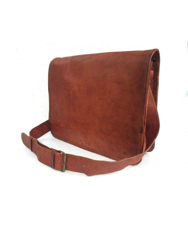 Universal Leather Handmade Messenger Satchel