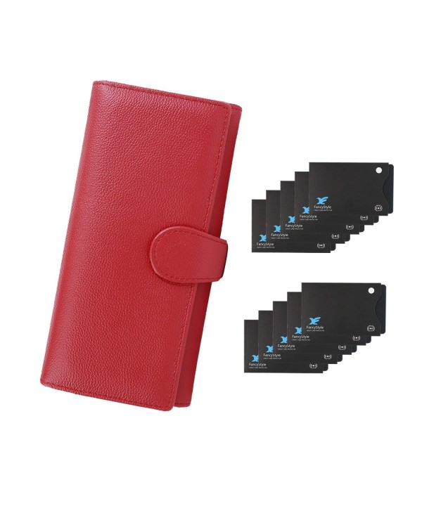 FancyStyle Wallets Leather Trifold Sleeves