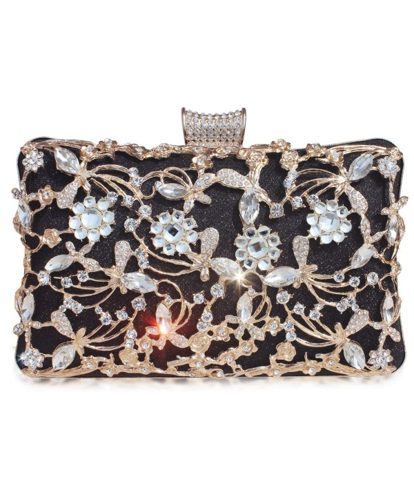 GESU Crystal Evening Wedding Handbag