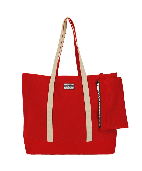 VanGoddy Two Tone Scarlet Vanilla Carry All