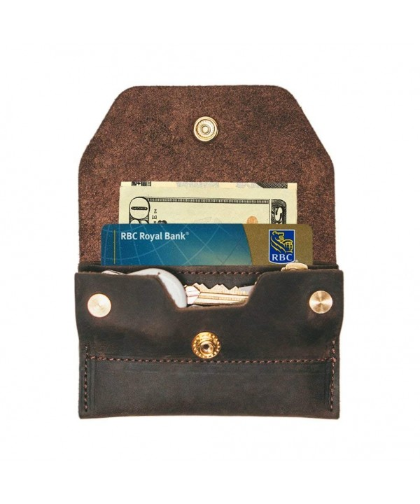 Minimalist Smart Wallet Leather Holder