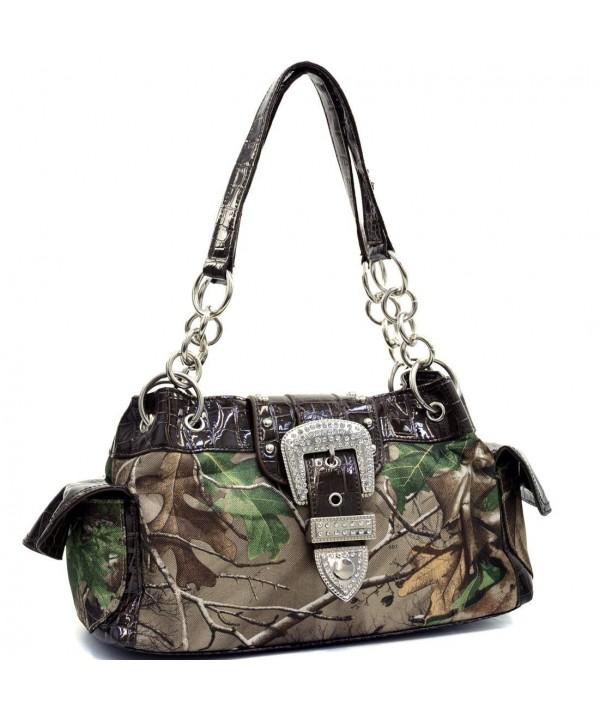 Realtree Camo Buckle Shoulder Bag