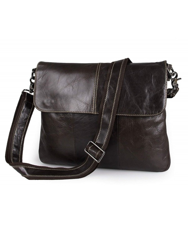 Itslife Leather Shoulder Business Messenger