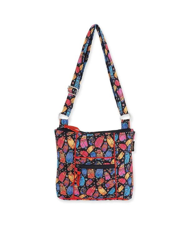 Laurel Burch Quilted Cotton Crossbody