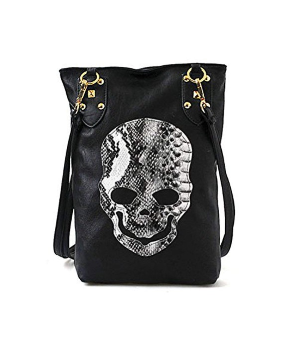 Womens Shoulder Gothic Studded Handbag