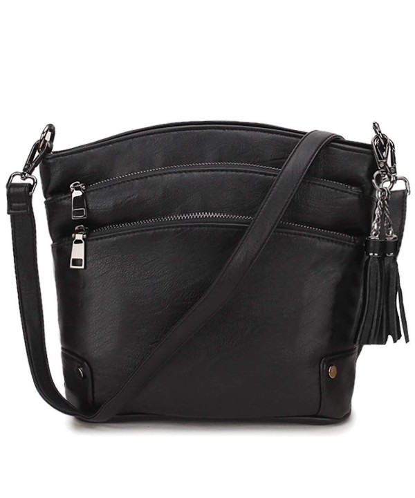 Crossbody Leather Shoulder Removable VONXURY