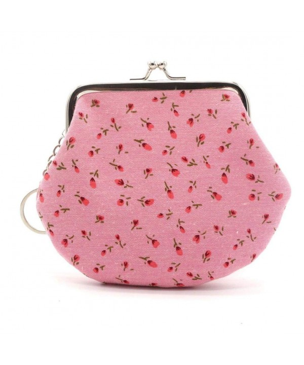 Franterd Vintage Flower Wallet Clutch