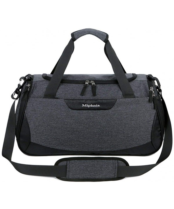 Miphnia Sports Travel Duffel Compartment