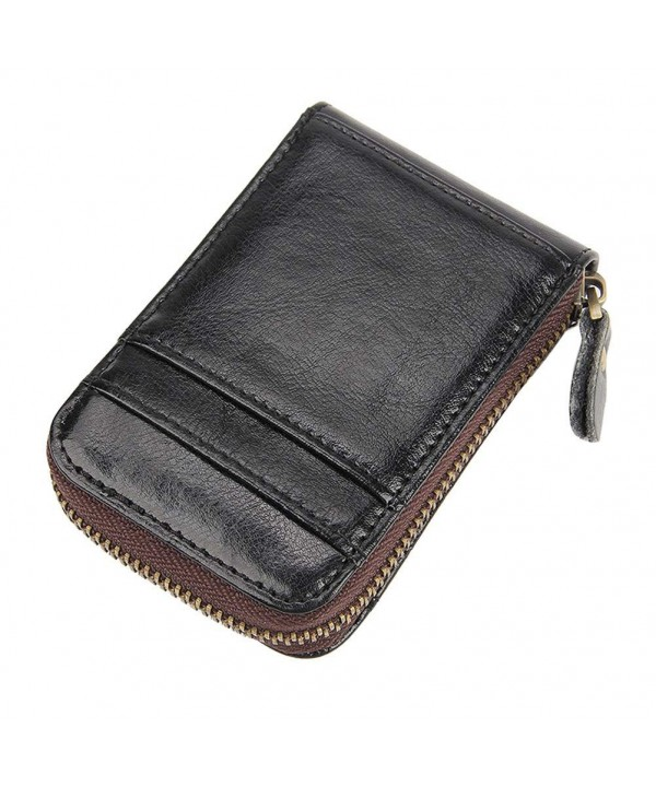 Holder Leather Blocking Accordion Fmeida