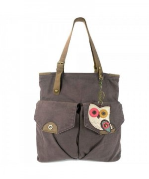 Chala Canvas Double Pocket Leather