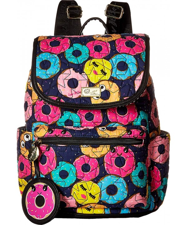 Luv Betsey Womens Quilted Backpack