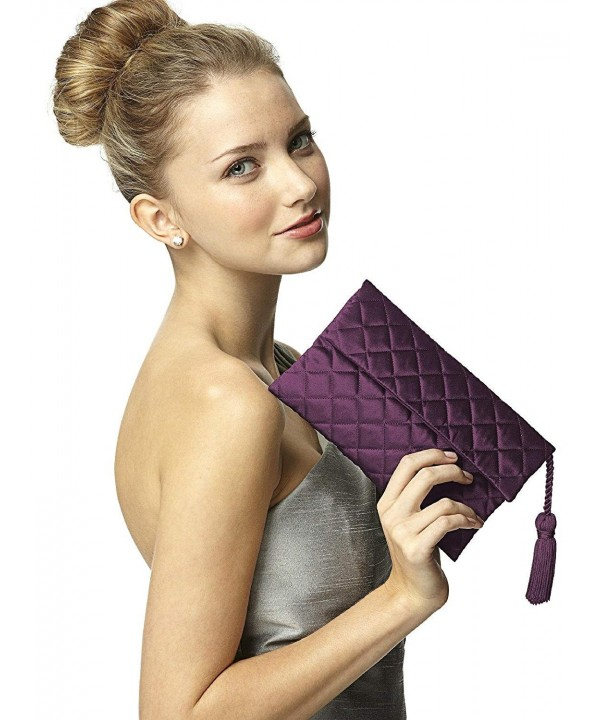 Womens Quilted Envelope Matching Dessy