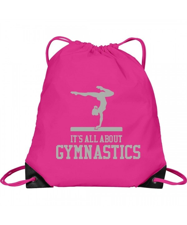 Its All About Gymnastics Drawstring