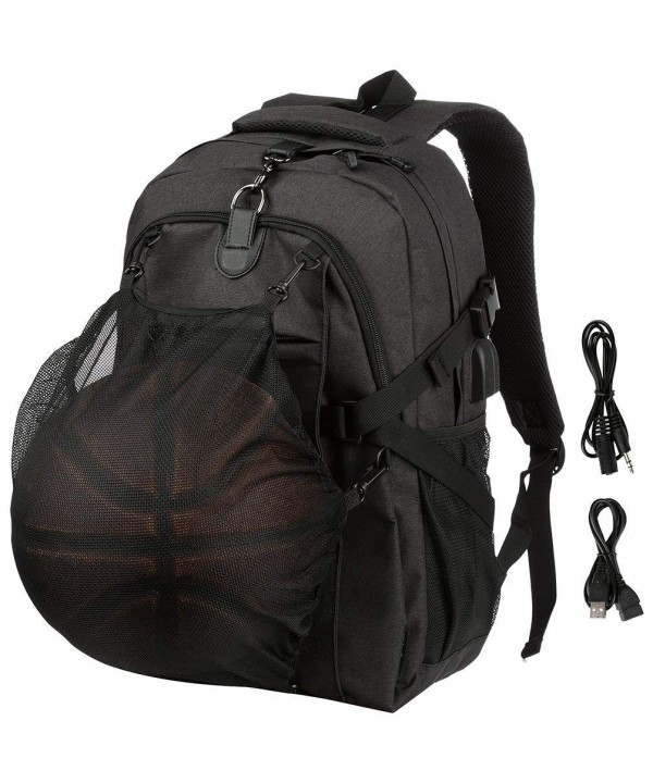 Basketball Backpack School Sports Net