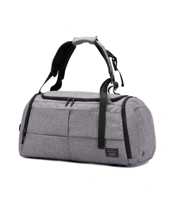 Anti Thief 55Liter Waterproof Compartment Upgraded Grey