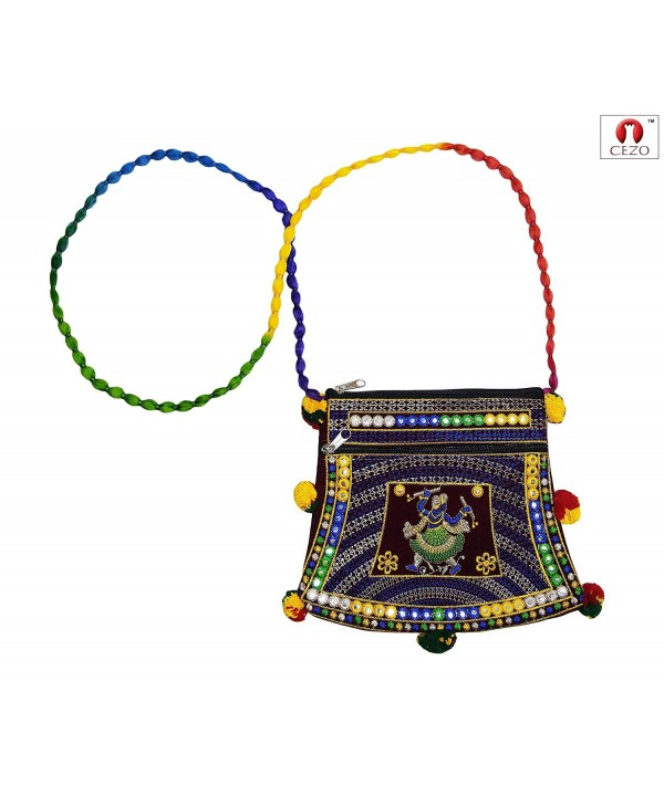CEZO Handicraft Traditional Embroidered Shoulder
