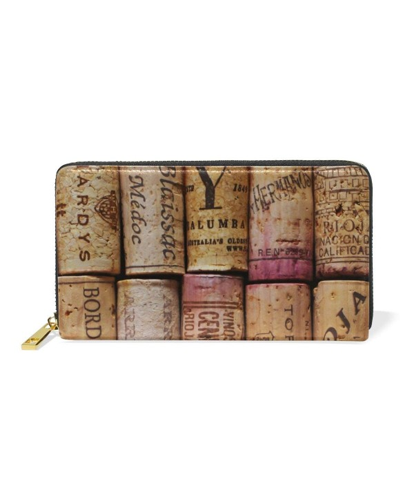 MaMacool Pattern Wallets Genuine Leather