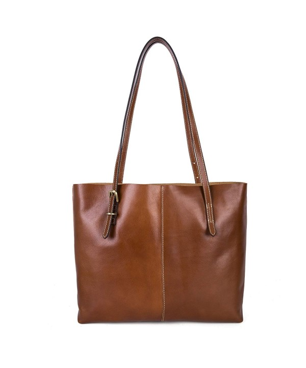 BAIGIO Vintage Leather Fashion Shoulder