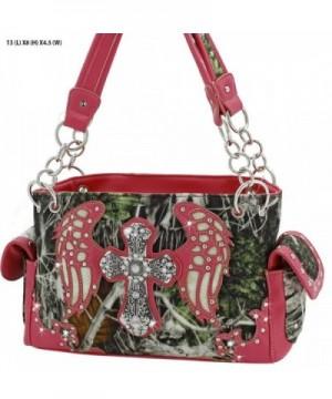 Western Angel Wings Concealed Handbag