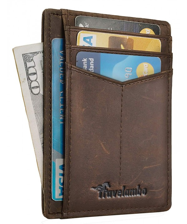 Travelambo Minimalist Pocekt Wallet Blocking