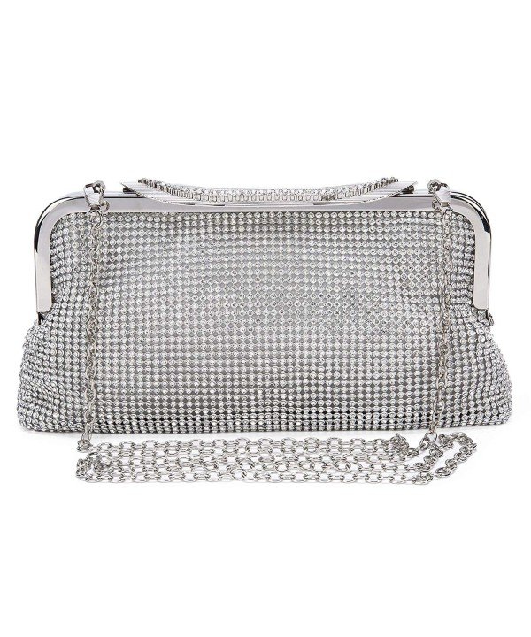 Evening Clutches Vintage Crystal Rhinestone