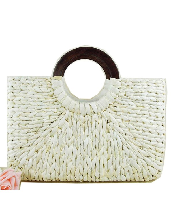 Rattan Summer Handbag Natural 15 5x15