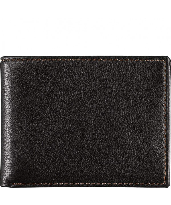 Johnston Murphy Bifold Wallet Black