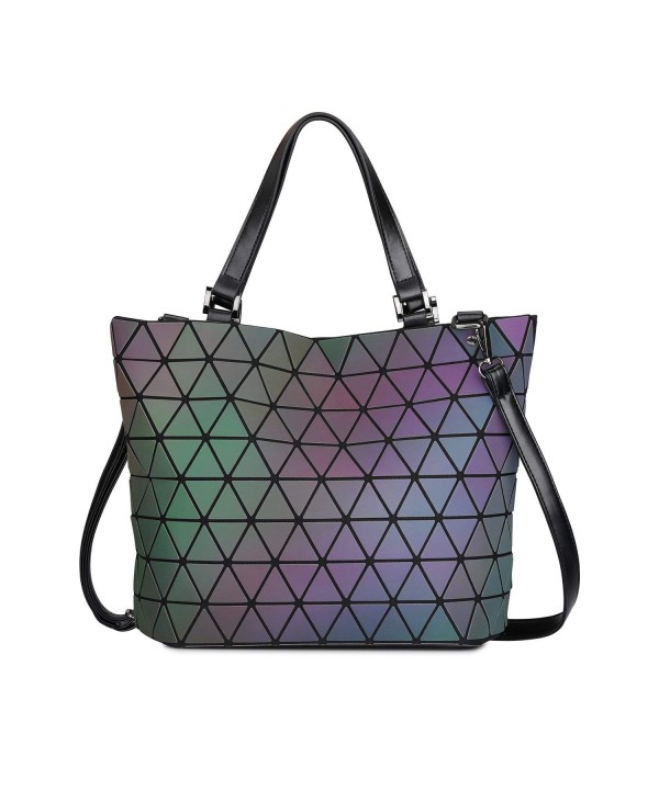 SAMSHOWME Luminous Satchel Shoulder Capacity