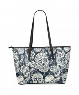 InterestPrint Floral Leather Shoulder Handbags