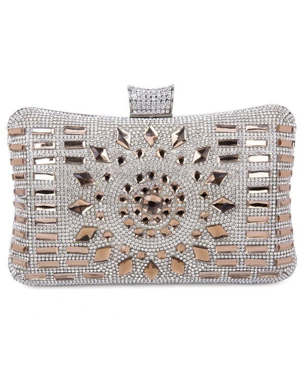 Tanpell Rhinestone Evening Clutches Detachable