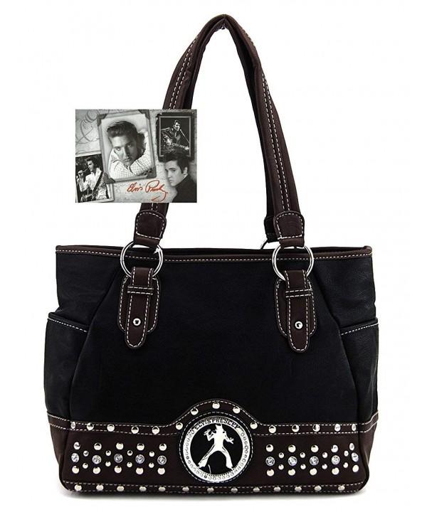 Elvis Presley Handbag Metal Studs