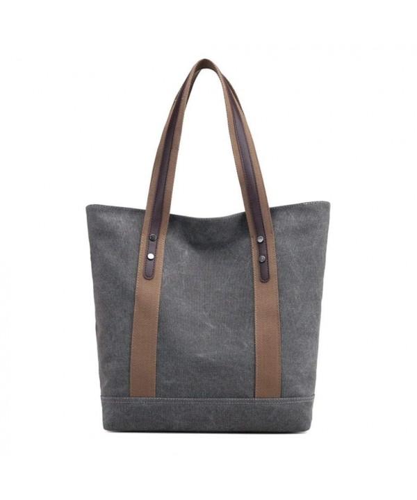 Womens Canvas Shoulder Casual Handbags
