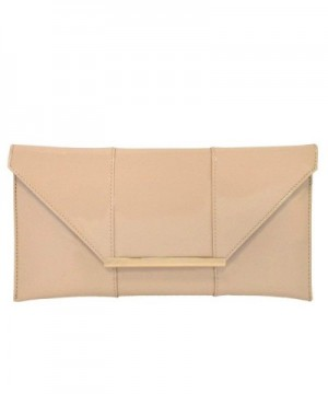 Patent Leather Envelope Candy Clutch