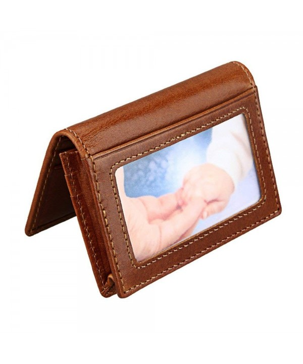 Hibate Leather Blocking Credit Holder