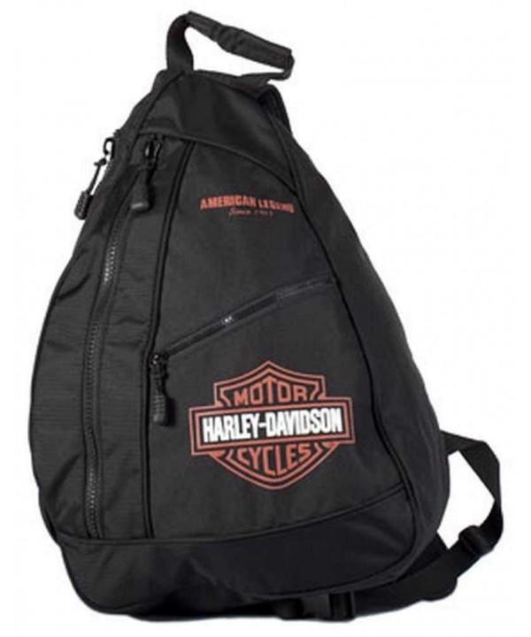 Harley Davidson Shield Sling Backpack BP1957S ORGBLK