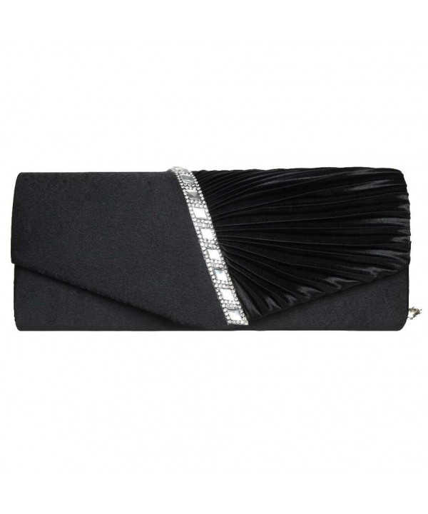 EUBags Evening Pleated Crystal Wedding